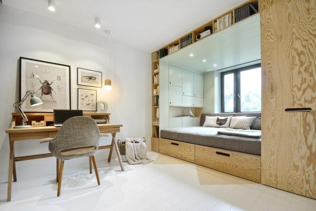 13 mẫu giường ngủ thông minh dành cho phòng ngủ nhỏ - Ảnh 3.