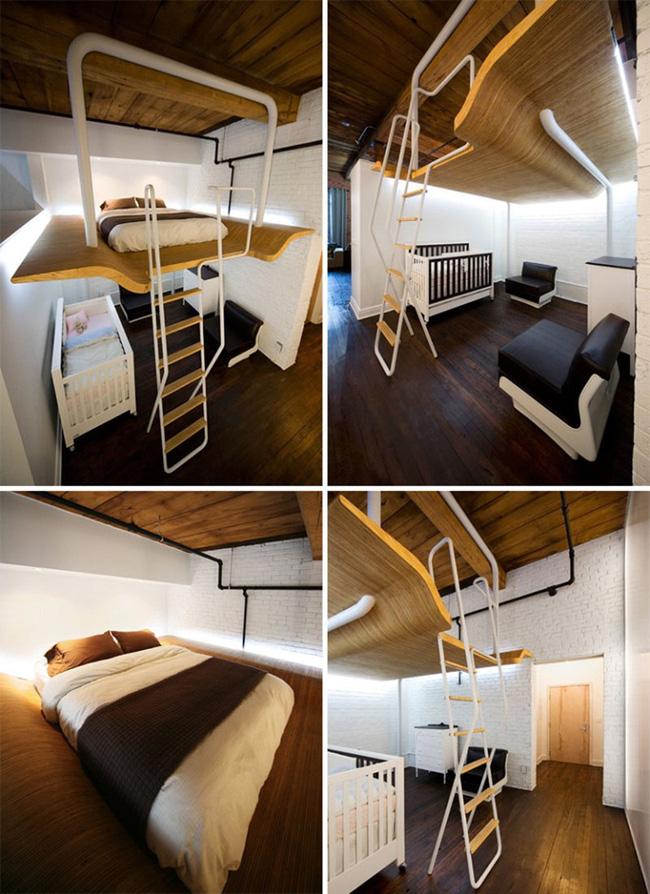 13 mẫu giường ngủ thông minh dành cho phòng ngủ nhỏ - Ảnh 7.