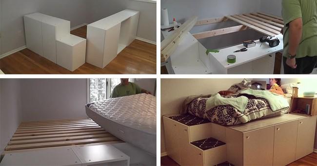 13 mẫu giường ngủ thông minh dành cho phòng ngủ nhỏ - Ảnh 9.