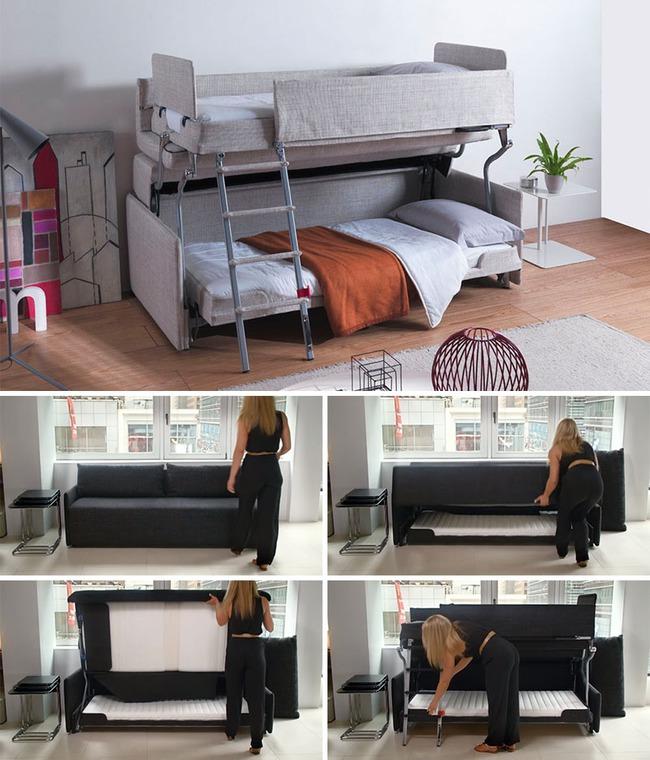 13 mẫu giường ngủ thông minh dành cho phòng ngủ nhỏ - Ảnh 10.
