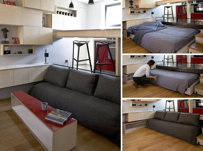 13 mẫu giường ngủ thông minh dành cho phòng ngủ nhỏ - Ảnh 11.