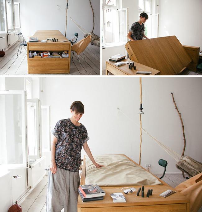 13 mẫu giường ngủ thông minh dành cho phòng ngủ nhỏ - Ảnh 12.