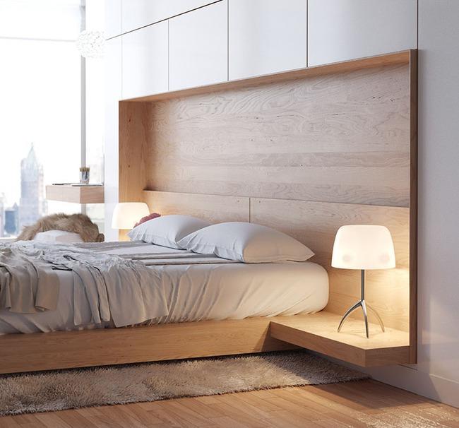 14 mẫu bàn đầu giường chẳng thể thiếu bên trong phòng ngủ - Ảnh 1.