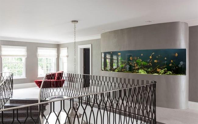 Bể cá được lồng ghép vào nội thất ngôi nhà, bạn đã biết xu hướng trang trí thịnh hành nhất hiện nay chưa? - Ảnh 7.