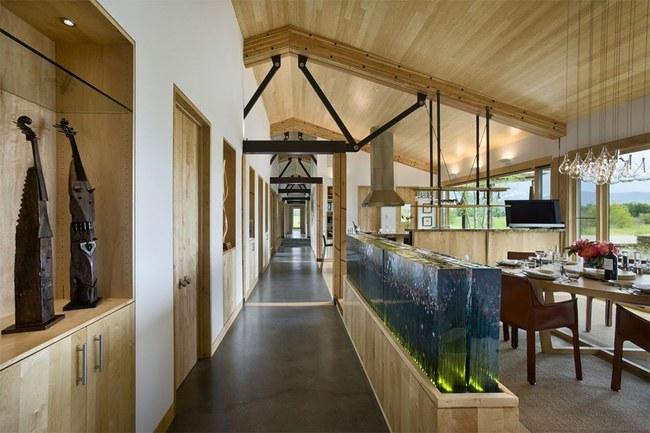 Bể cá được lồng ghép vào nội thất ngôi nhà, bạn đã biết xu hướng trang trí thịnh hành nhất hiện nay chưa? - Ảnh 15.