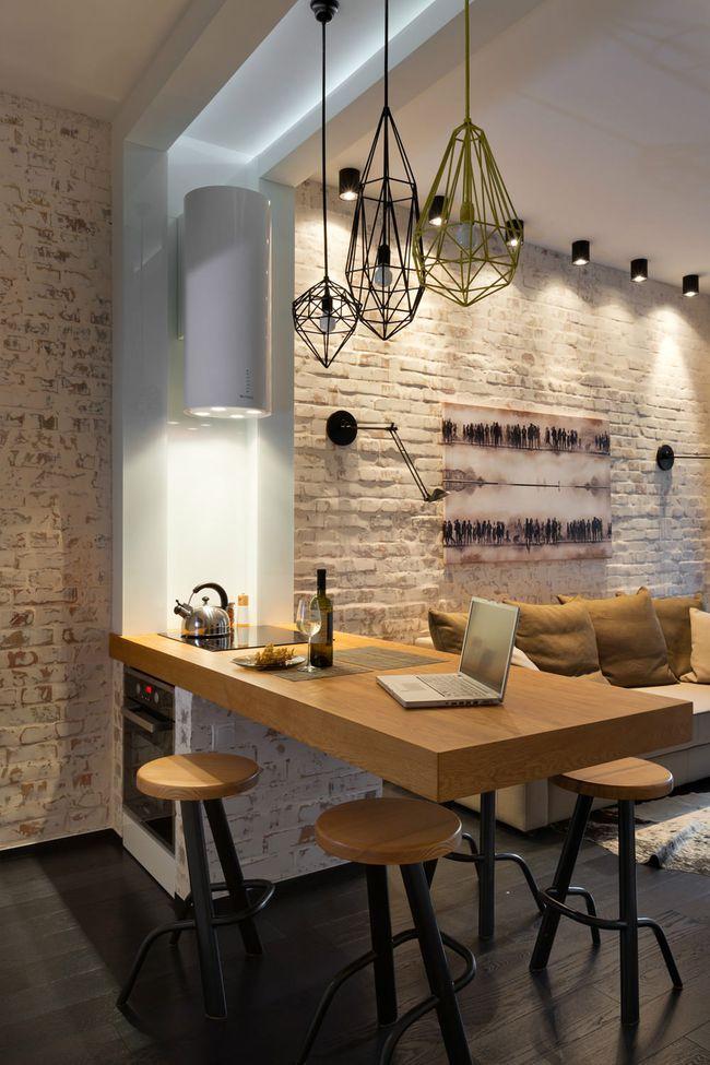 Chưa bao giờ thiết kế phòng bếp đơn giản thế, chỉ một cái bàn nhỏ bạn đã có cho riêng mình một thế giới rồi - Ảnh 1.