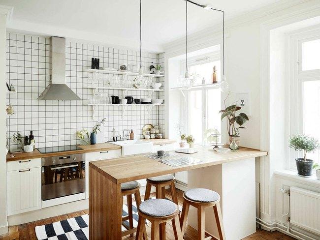Chưa bao giờ thiết kế phòng bếp đơn giản thế, chỉ một cái bàn nhỏ bạn đã có cho riêng mình một thế giới rồi - Ảnh 4.