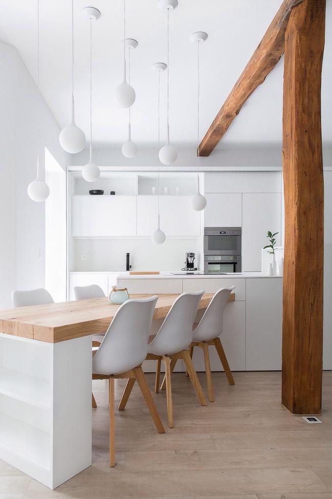 Chưa bao giờ thiết kế phòng bếp đơn giản thế, chỉ một cái bàn nhỏ bạn đã có cho riêng mình một thế giới rồi - Ảnh 5.