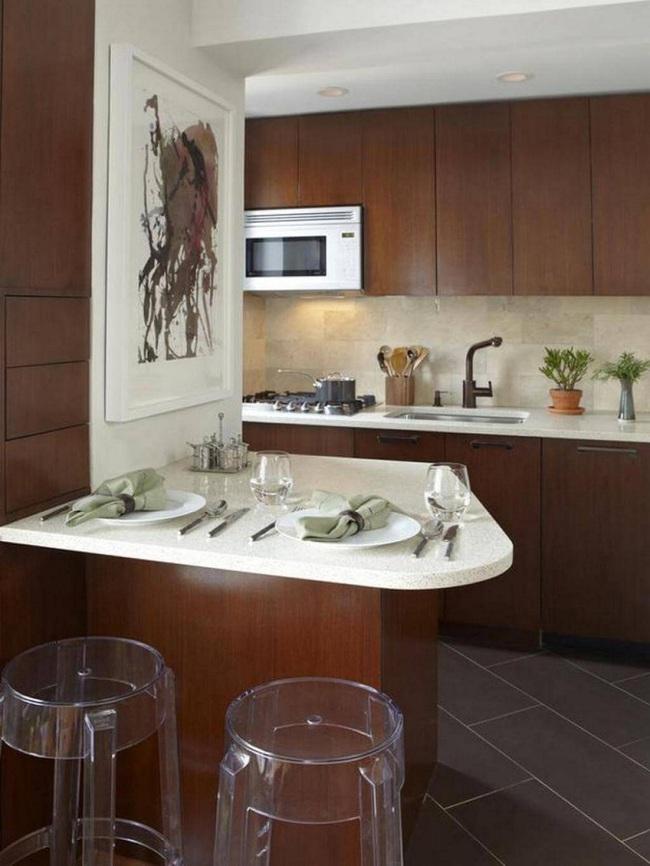 Chưa bao giờ thiết kế phòng bếp đơn giản thế, chỉ một cái bàn nhỏ bạn đã có cho riêng mình một thế giới rồi - Ảnh 10.