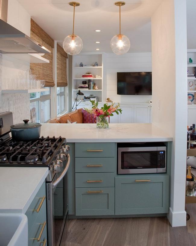 Chưa bao giờ thiết kế phòng bếp đơn giản thế, chỉ một cái bàn nhỏ bạn đã có cho riêng mình một thế giới rồi - Ảnh 11.