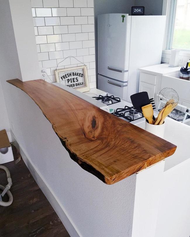Chưa bao giờ thiết kế phòng bếp đơn giản thế, chỉ một cái bàn nhỏ bạn đã có cho riêng mình một thế giới rồi - Ảnh 12.