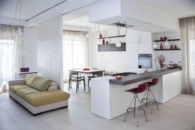 Chưa bao giờ thiết kế phòng bếp đơn giản thế, chỉ một cái bàn nhỏ bạn đã có cho riêng mình một thế giới rồi - Ảnh 14.