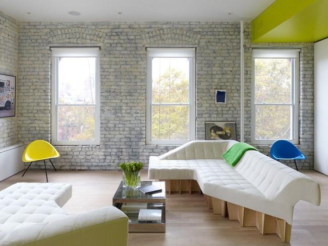 Căn hộ nhỏ hiện đại với thiết kế nội thất thông minh này sẽ làm cho bạn luôn tràn đầy ý tưởng - Ảnh 1.