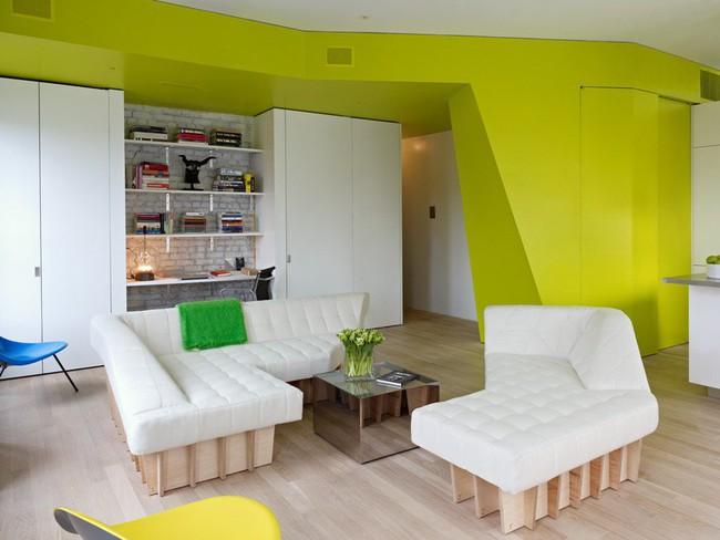 Căn hộ nhỏ hiện đại với thiết kế nội thất thông minh này sẽ làm cho bạn luôn tràn đầy ý tưởng - Ảnh 2.