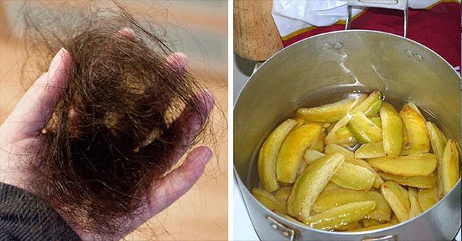 Tóc rụng gần hói cũng sẽ mọc lại đen đầu chỉ nhờ vào 1 trái này - Ảnh 2.