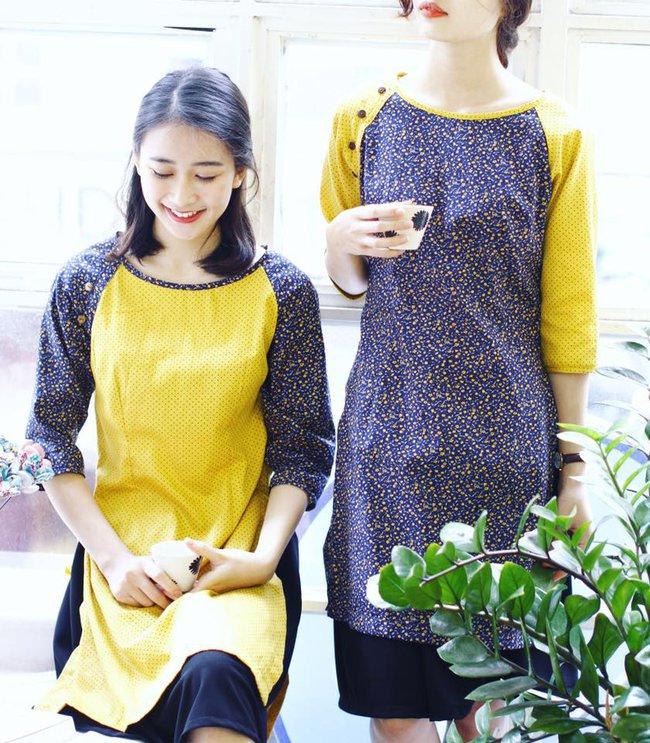 5 tiệm áo dài cách tân cực chất, giá dưới 1 triệu để đẹp cả Tết ở Hà Nội - Ảnh 5.