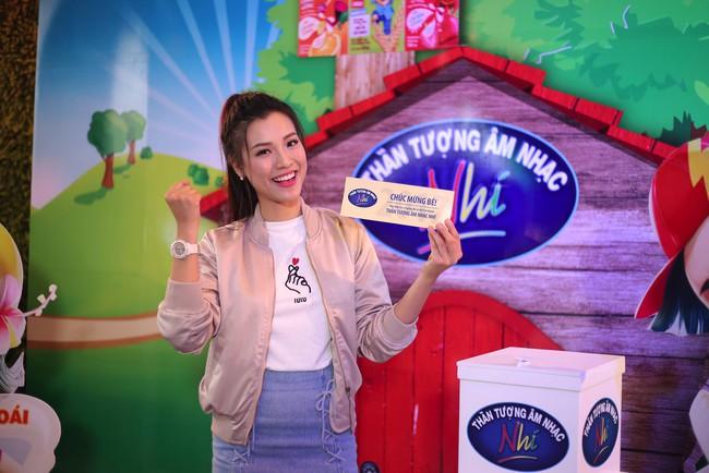 Hoàng Oanh, Ngọc Khuê điên đảo vì dàn thí sinh Idol Kids siêu đáng yêu - Ảnh 3.