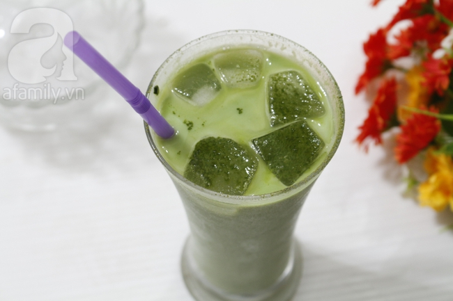 Giải nhiệt đầu hè với latte trà xanh đá mát lịm - Ảnh 4.