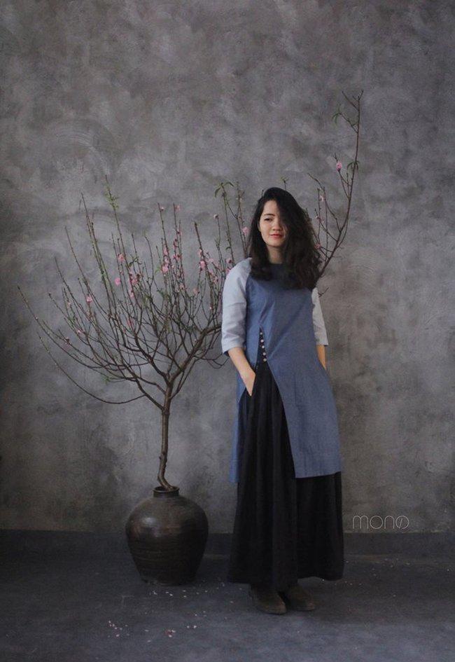 5 tiệm áo dài cách tân cực chất, giá dưới 1 triệu để đẹp cả Tết ở Hà Nội - Ảnh 11.