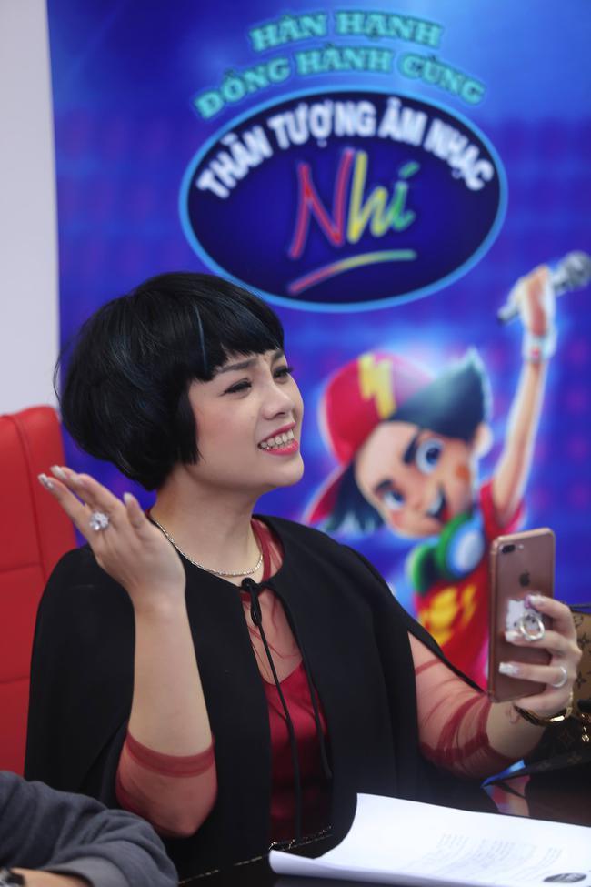 Hoàng Oanh, Ngọc Khuê điên đảo vì dàn thí sinh Idol Kids siêu đáng yêu - Ảnh 1.