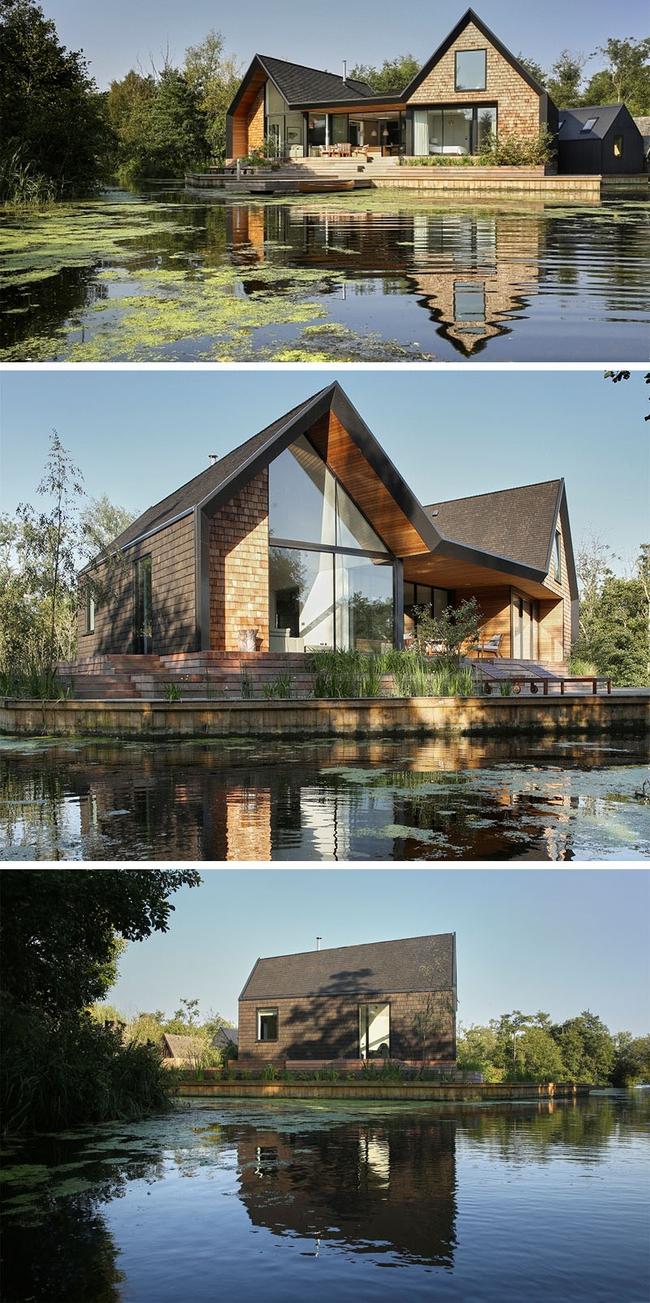 Cuối tuần được thư giãn trong ngôi nhà bên hồ như thế này thì chẳng còn gì thích hơn - Ảnh 5.