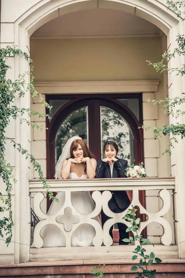 Cặp đôi có bộ ảnh cưới chú rể xinh hơn cô dâu tiết lộ chuyện ngoài đời cũng nhiều trái khoáy - Ảnh 8.
