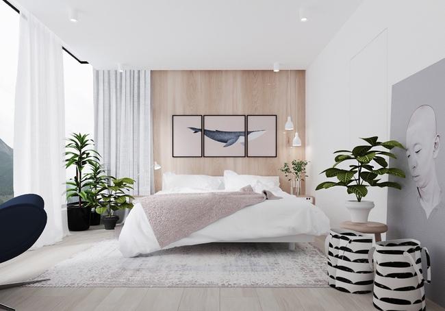 19 thiết kế phòng ngủ với gam màu trắng trắng khiến bạn mêm mẩn không thể không yêu - Ảnh 2.