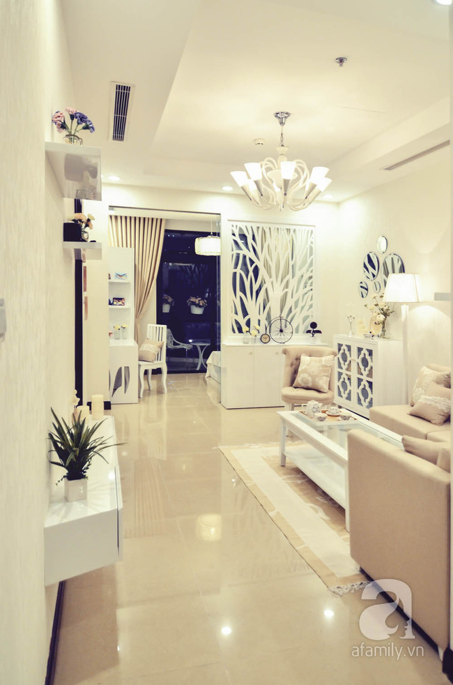 Căn hộ 93m² đơn giản nhưng vẫn đẹp hút hồn của vợ chồng trẻ ở Hà Nội - ảnh 1