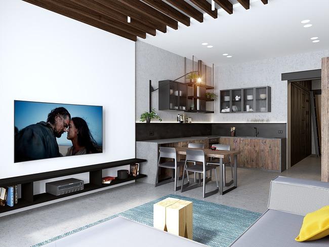 3 căn hộ nhỏ gọn với thiết kế mở vừa đẹp vừa hợp lý đến từng centimet - Ảnh 1.