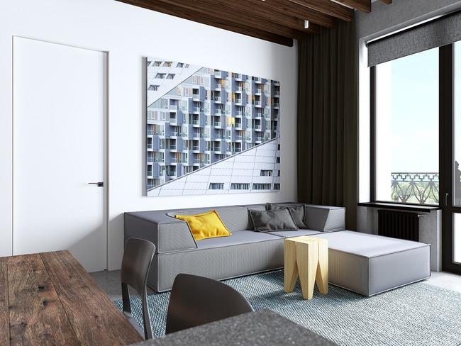 3 căn hộ nhỏ gọn với thiết kế mở vừa đẹp vừa hợp lý đến từng centimet - Ảnh 2.