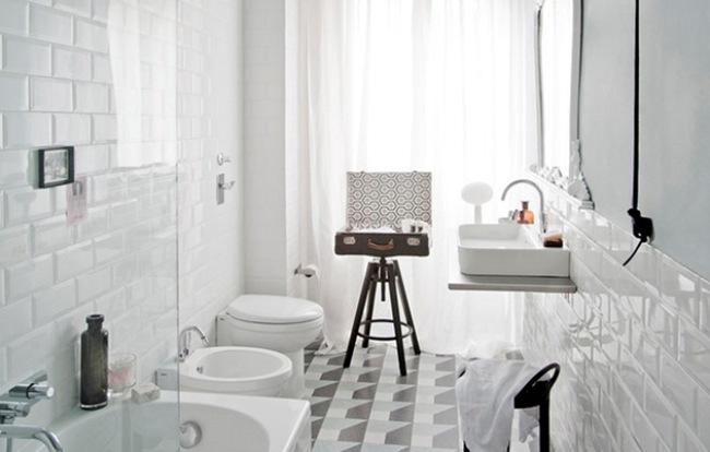 Phòng tắm Vintage với những chi tiết nội thất độc đáo - Ảnh 1.