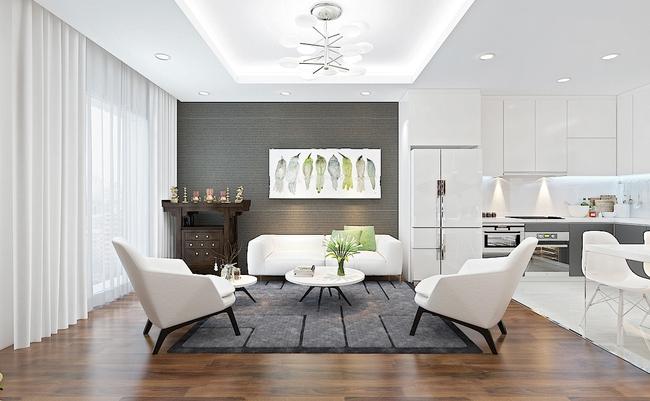 Tư vấn thiết kế phòng khách mang phong cách hiện đại với tổng chi phí chưa đến 30 triệu đồng - Ảnh 1.