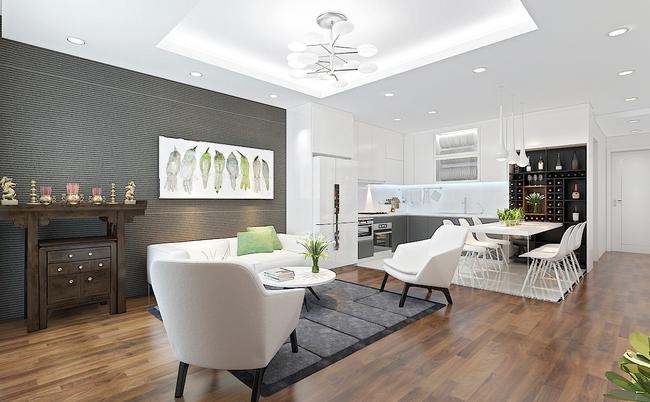 Tư vấn thiết kế phòng khách mang phong cách hiện đại với tổng chi phí chưa đến 30 triệu đồng - Ảnh 2.
