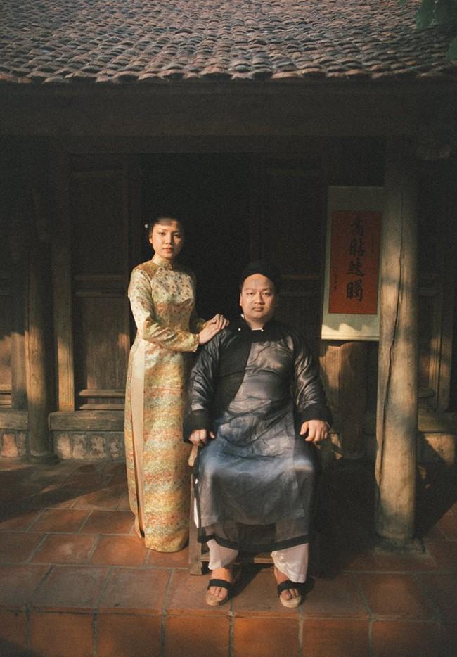 Phát sốt với 100 năm đám cưới Việt Nam, bộ ảnh cưới độc đáo của của cô dâu chú rể yêu những gì hoài cổ - Ảnh 4.