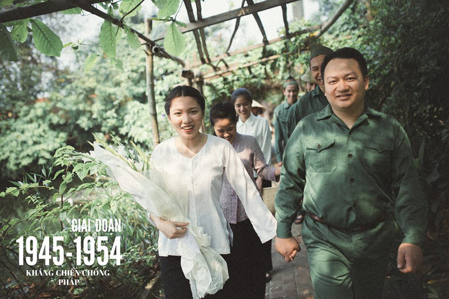 Bộ ảnh 100 năm đám cưới Việt Nam của cô dâu chú rể yêu những gì cũ kỹ, hoài cổ - Ảnh 4.