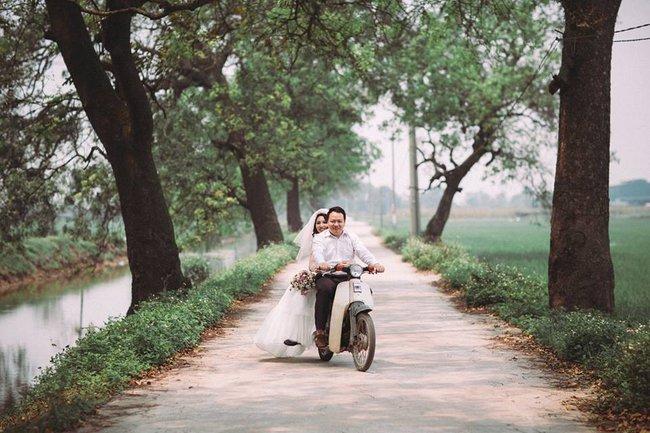 Phát sốt với 100 năm đám cưới Việt Nam, bộ ảnh cưới độc đáo của của cô dâu chú rể yêu những gì hoài cổ - Ảnh 17.