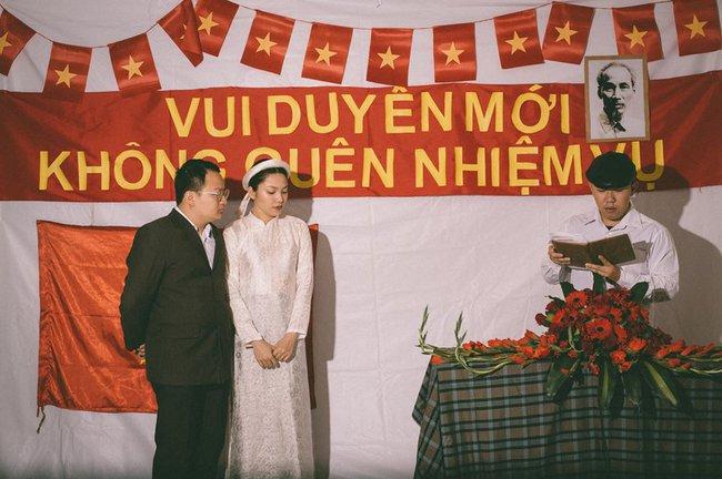 Phát sốt với 100 năm đám cưới Việt Nam, bộ ảnh cưới độc đáo của của cô dâu chú rể yêu những gì hoài cổ - Ảnh 11.