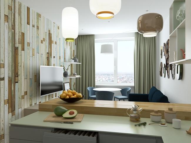 3 căn hộ nhỏ gọn với thiết kế mở vừa đẹp vừa hợp lý đến từng centimet - Ảnh 11.