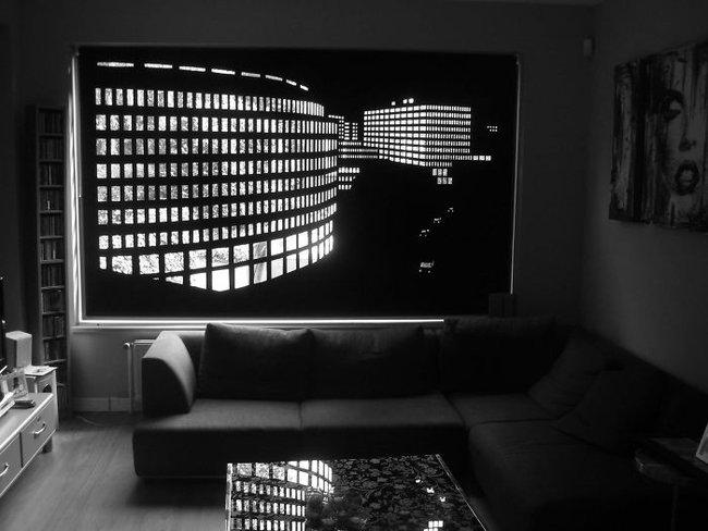 Rèm cửa đục lỗ - món phụ kiện cho bạn cảm giác như sống ở penthouse   - Ảnh 11.