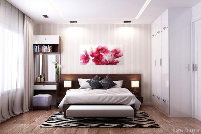 17 thiết kế phòng ngủ với gam màu trắng khiến bạn không thể không yêu - Ảnh 12.