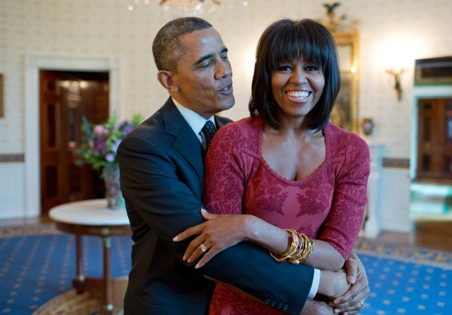 Những khoảnh khắc đáng nhớ bên vợ con của Obama - Ảnh 22.