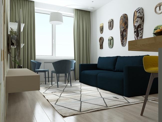 3 căn hộ nhỏ gọn với thiết kế mở vừa đẹp vừa hợp lý đến từng centimet - Ảnh 12.