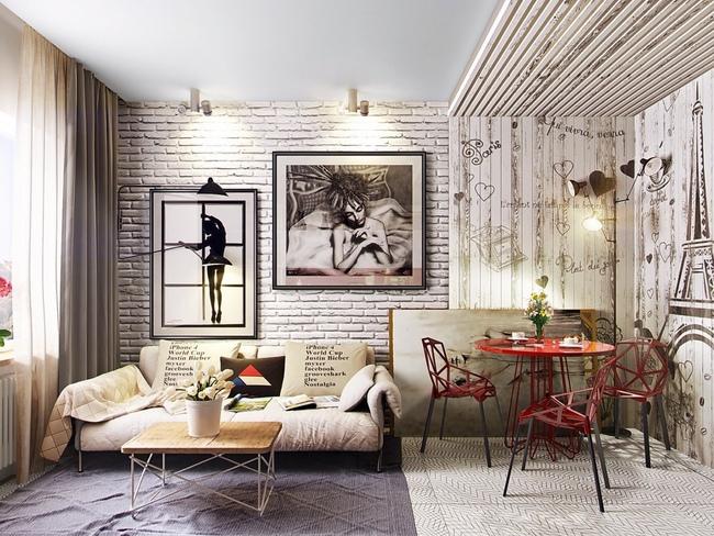 Những mẫu phòng khách đẹp lung linh thu hút mọi ánh nhìn - Ảnh 11.