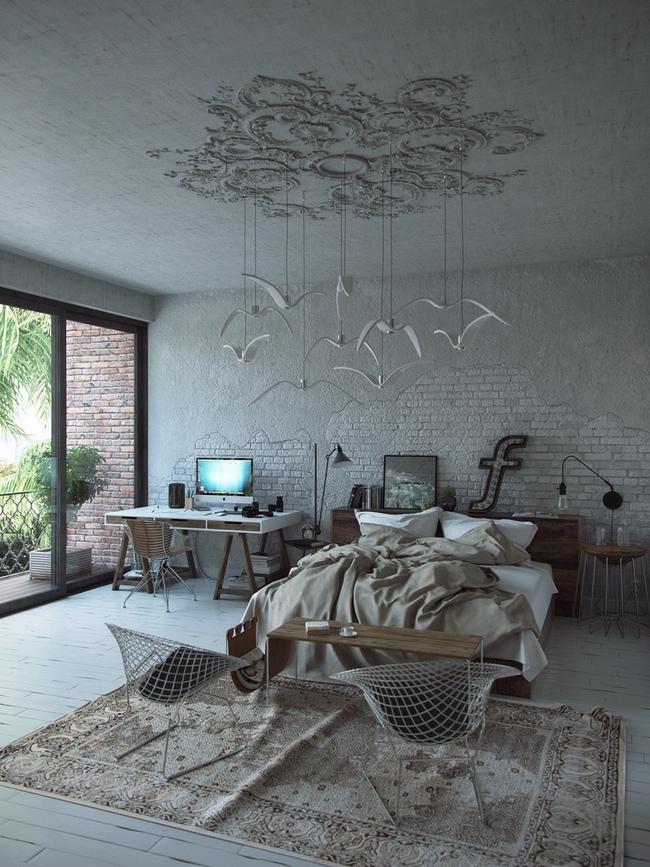 17 thiết kế phòng ngủ với gam màu trắng khiến bạn không thể không yêu - Ảnh 13.