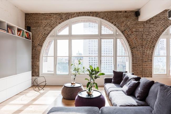 Thiết kế tường gạch độc đáo giúp phòng khách đẹp đến khó tả - Ảnh 13.
