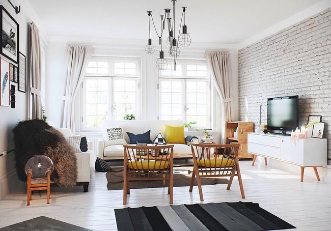 Những mẫu phòng khách đẹp lung linh thu hút mọi ánh nhìn - Ảnh 12.