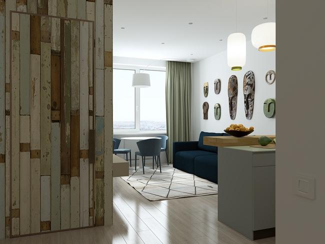 3 căn hộ nhỏ gọn với thiết kế mở vừa đẹp vừa hợp lý đến từng centimet - Ảnh 14.