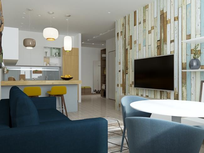 3 căn hộ nhỏ gọn với thiết kế mở vừa đẹp vừa hợp lý đến từng centimet - Ảnh 15.