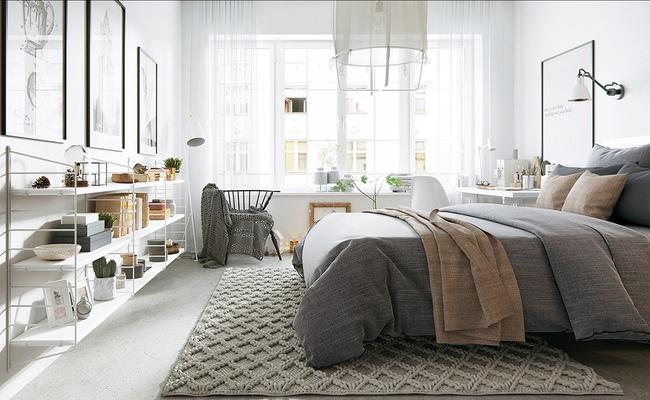 17 thiết kế phòng ngủ với gam màu trắng khiến bạn không thể không yêu - Ảnh 16.