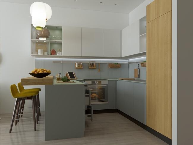3 căn hộ nhỏ gọn với thiết kế mở vừa đẹp vừa hợp lý đến từng centimet - Ảnh 16.